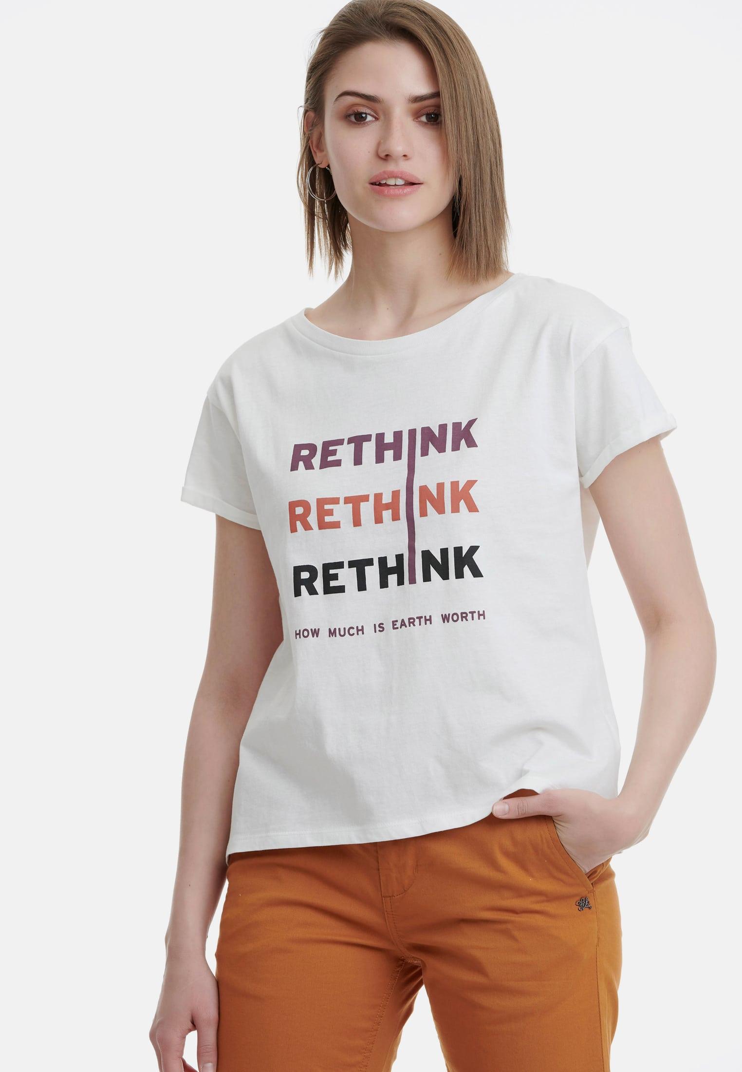 Organic Cotton T-Shirt με τύπωμα