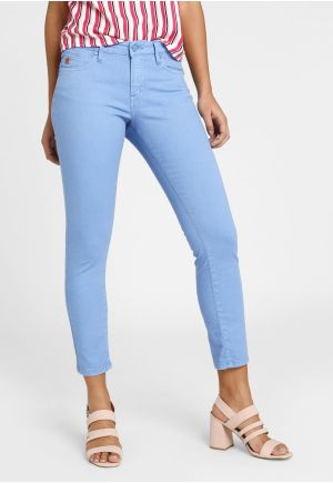 Essential stretch cotton pants