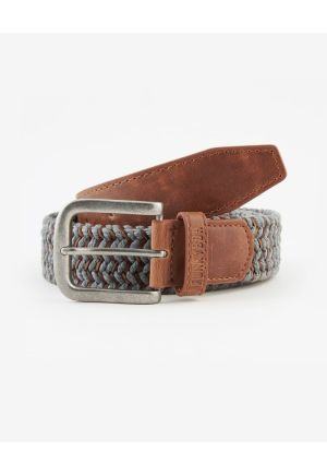Belt with knitted pattern