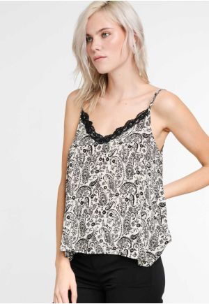 TOP ΜΕ PAISLEY ΤΥΠΩΜΑ