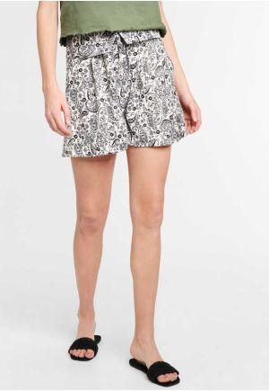 SHORTS ΜΕ ALLOVER ΤΥΠΩΜΑ