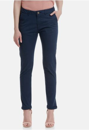 Stretch Cotton Slim Fit Chinos
