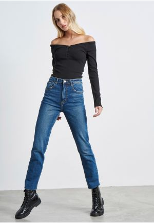 Comfort Stretch High Rise Skinny Jeans