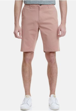 Essential Stretch Cotton Chino Shorts