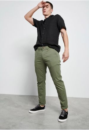 Comfort-stretch chino παντελόνι