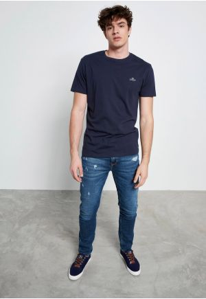 Essential cotton crew neck t-shirt