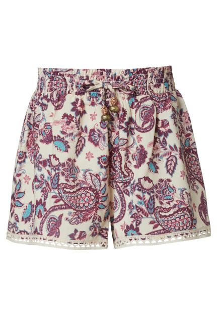 Fashion Shorts in all-over Print