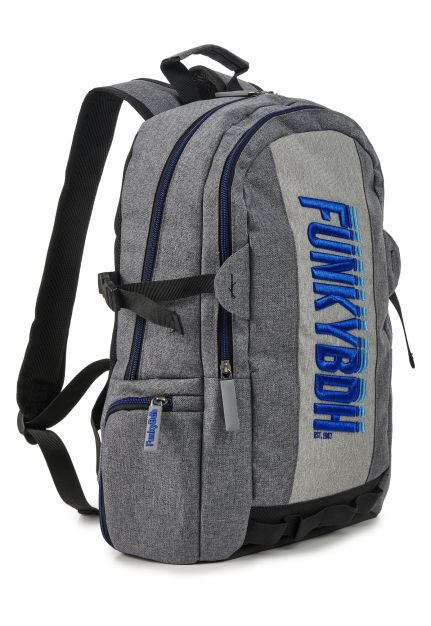 Backpack With Embroidered Logo