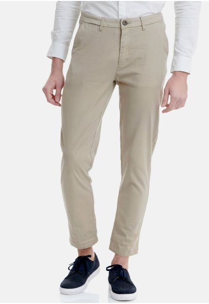Cotton-Linen Chino Παντελόνι