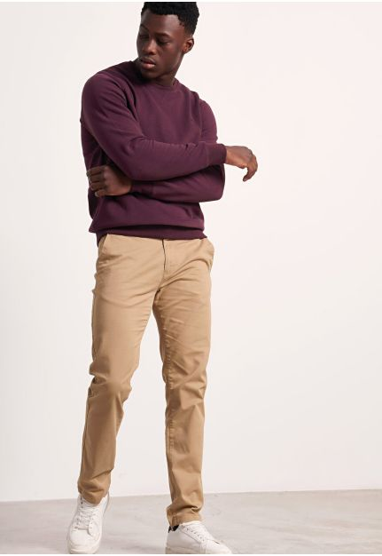 Essential Comfort-Stretch Chino Pants