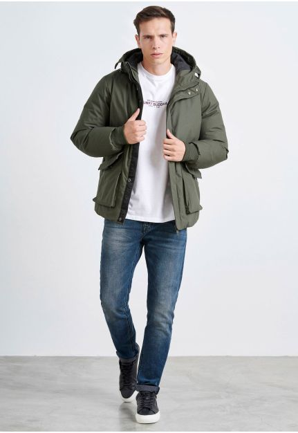 Cotton Padded Jacket with front pockets